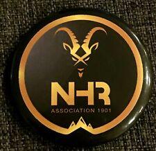 Badge plastique 44mm Association NHR Notre Histoire Retrouvée