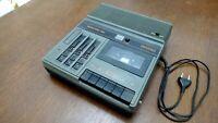 BRUNS MONOCORD 6021 DDR RFT KASSETTENREKORDER TAPE RECORDER + REGLER + AUSGÄNGE