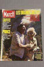 paris match n°1945 drame du feu lafitte prince de suza