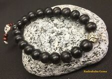 Owl Owls Tibetan Black Wood 10mm Beads Sandalwood Meditation Prayer men Bracelet