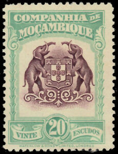MOZAMBIQUE COMPANY 193 - Colonial Coat of Arms (pb22187)
