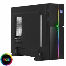 AeroCool Playa Desktop RGB PC Gaming Case mATX ITX 13 Lighting Modes 1 X 8 -