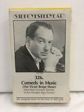 Video Yesteryear #326 Comedy In Music The Victor Borge Show Betamax Brand New