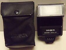 Minolta Maxxum 2000Af Flash W/Soft Case