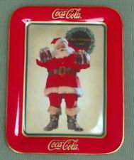 Franklin Mint Heirloom Coca Cola Christmas Limited Edition Porcelain Plate 1996