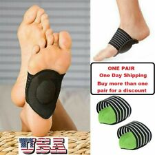 Plantar Fasciitis Therapy Wrap Brace Arch Support for Heel Foot Pain USA Seller