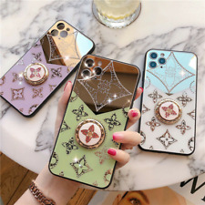 Glass Protector Anti Knock KickStand Case Cover For iPhone 12 11 Pro MAX XS 7 8+