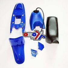 Yamaha Pw50 Plastic Kit Plastics And Tank blue