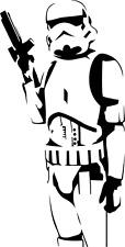 Star Wars StormTrooper Adesivi Da Muro Da Parete & Decalcomania