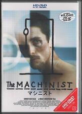 MACHINIST HD-DVD Christian Bale ~ Brad Anderson  ~ JAPANESE ~  OOP BRAND NEW
