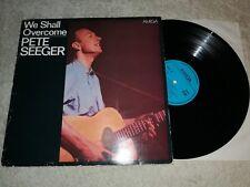 PETE SEEGER-We shall overcome Vinyle LP AMIGA 1978