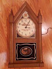 """Vintage The Glenlivet Scotch 24"""" Electric Shelf Clock - Works"""