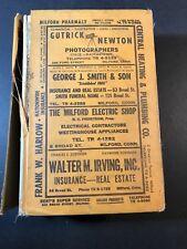 1963 Milford Orange CT Price & Lee directory - Connecticut telephone address