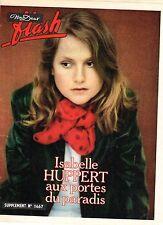 NOUS DEUX ISABELLE HUPPERT + ROMAN PHOTO LE RETOUR DU PERE  1979
