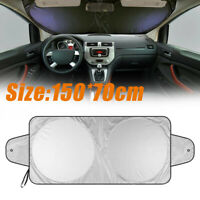 Folding Front Car Window Sun Shade Visor Auto Windshield Block Cover Protector