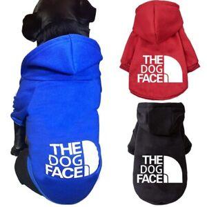 Fashion Dog Hoodie Puppy Coat Winter Dog Clothes Dogs Jacket Cotton Warm Soft✔✔