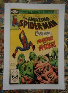 AMAZING SPIDER-MAN #228 - MAY 1982 - MURDER BY SPIDER APPEARANCE! - NM- (9.2)