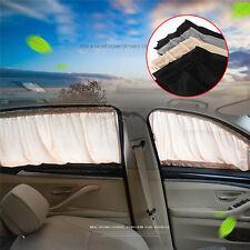 Universal Car Sun Shade Side Window Curtain Set Foldable Sunshade UV Protection