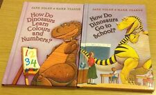 HOW DO DINOSAURS BOOKS Jane Yolen & Mark Teague (Hardback)