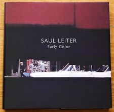 SIGNED - SAUL LEITER - EARLY COLOR - 2006 1ST EDITION & 1ST PRINTING - FINE COPY