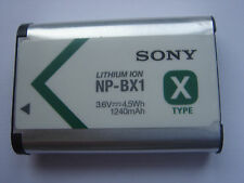 Batterie D'ORIGINE SONY NP-BX1 3.6V 4.5Wh 1240mAh GENUINE Battery ACCU NEUVE