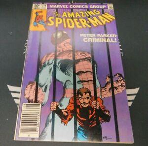 The Amazing Spider-Man #219 1981 Newsstand Marvel