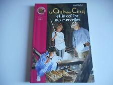 BIBLIOTHEQUE ROSE - LE CLUB DES CINQ et le coffre aux merveilles - Enid Blyton