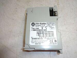 Allen Bradley Compact I/O 8 Point Output Module 1769-OW8 Ser. B F/W 3.1 17690W8