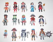 Playmobil Figurine Personnage Pirate + Accessoires Modèle au Choix NEW