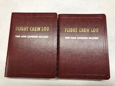 Flight Crew Log,  Package of 2, FAA & IRS Approved, #1 Choice of Airline Pilots