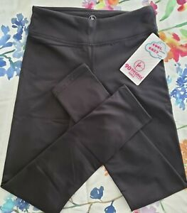 90 Degree by Reflex ACTIVE LEGGING BLACK GIRLS  Large 12  Comfort