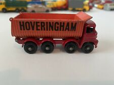 Vintage Lesney Matchbox #17 Foden Hoveringham Tipper Regular Wheels 1963