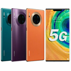 "Huawei Mate 30 Pro 5G Kirin 990 4500mah Smartphone 6.53"" Dual SIM 4 Real Camera"