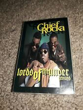 Chief Rocka - Lords Of The Underground - Cassette Single. Sealed. Here Come The.