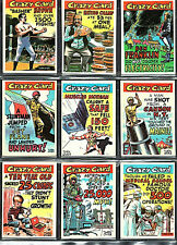 1961 Topps Crazy Cards: Complete 66 trading card set Wally Wood; MINT to EXMT+/-