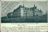 Frankenberg Sachsen 1902 Königliches Lehrer-Seminar Gebäude Litho-AK n/ Colditz