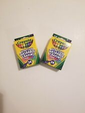 Crayola Ultra Clean Washable Crayons 24ct, 2 - Pack