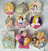 Disney Princess Booster Starter & Rack Set Choose a Disney Pin
