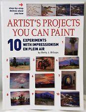 Artist's Projects You Can Paint - Landscapes Impressionism en Plein Air 2005