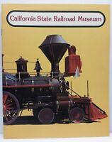 Vintage California State Railroad Train Museum Sacramento Ca