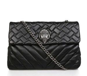 Kurt Geiger XXL Kensington bag black leather
