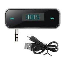 3.5mm In-Car Audio FM Transmitter for iPhone 5S iPod Samsung Galaxy MP3 Best RT