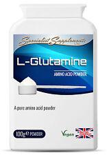 L-Glutammina Pura Aminoacidi Polvere Double Pack 200g Glutammina