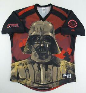 OT Sports Minor Leagues Lake Elsinore Storm Star Wars Darth Vader Jersey Size L