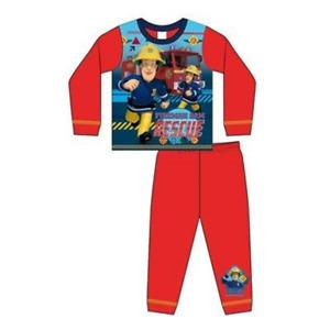 New Boys 100% Cotton Fireman Sam Pyjamas