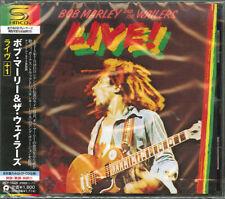 Bob Marley & il Wailers-Live + 1-JAPAN Shm-Cd Bonus Pista D50