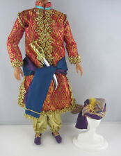 Barbie .. Ken Outfit Tales of the Arabian Nights Sultan Costume Turban Sword