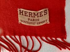 HERMES CHALE CACHEMIRE FRAMBOISE VINTAGE