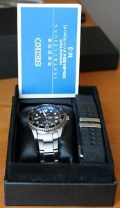 Seiko Shogun SBC029 Titanium 200m Divers watch, 6R15-01D0