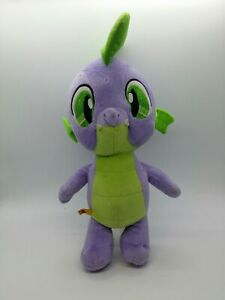 BUILD A BEAR Purple Green Dragon SPIKE My Little Pony MLP Plush Stuffed Animal